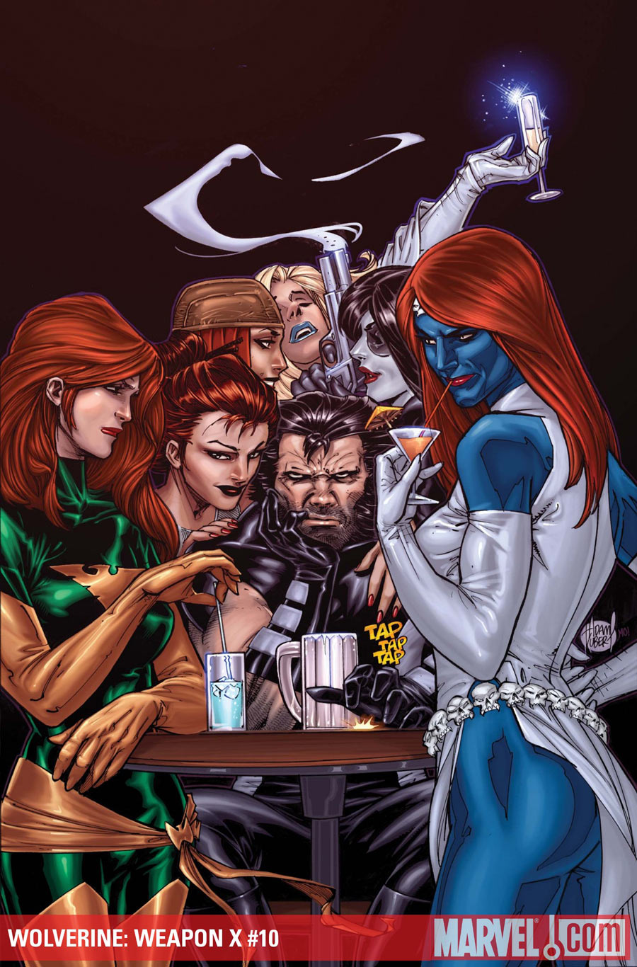Mystique, Wolverine